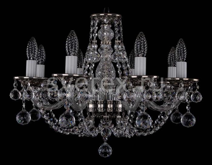 Фото Подвесная люстра Bohemia Ivele Crystal 1606 1606/8/195/NB/Balls