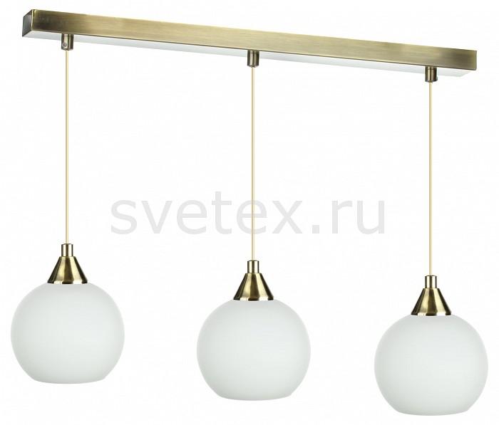 Подвесной светильник 33 идеиДля кухни<br>Артикул - ZZ_PND.102.03.01.AB-S.02.WH_3,Бренд - 33 идеи (Россия),Коллекция - AB_S.02.WH,Длина, мм - 710,Ширина, мм - 150,Высота, мм - 890,Размер упаковки, мм - 560x80x60, 3*160x160x140,Тип лампы - компактная люминесцентная [КЛЛ] ИЛИнакаливания ИЛИсветодиодная [LED],Общее кол-во ламп - 3,Напряжение питания лампы, В - 220,Максимальная мощность лампы, Вт - 60,Лампы в комплекте - отсутствуют,Цвет плафонов и подвесок - белый,Тип поверхности плафонов - матовый,Материал плафонов и подвесок - стекло,Цвет арматуры - латунь античная,Тип поверхности арматуры - глянцевый,Материал арматуры - металл,Количество плафонов - 3,Возможность подлючения диммера - можно, если установить лампу накаливания,Тип цоколя лампы - E14,Класс электробезопасности - I,Общая мощность, Вт - 180,Степень пылевлагозащиты, IP - 20,Диапазон рабочих температур - комнатная температура,Дополнительные параметры - основания светильника 560x55 мм, диаметр плафона 150 мм, способ крепления светильника к потолку – на монтажной пластине<br>