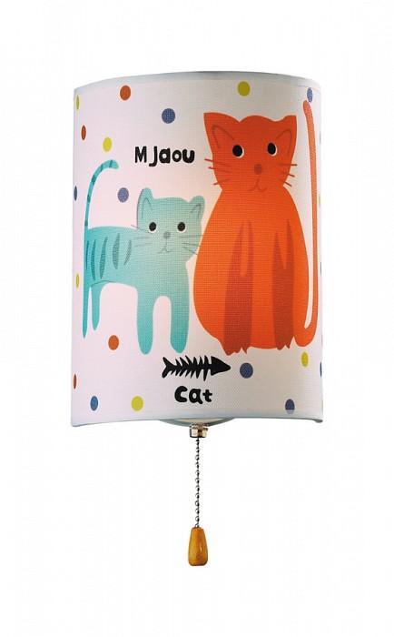 Фото Накладной светильник Odeon Light Cats 2279/1W