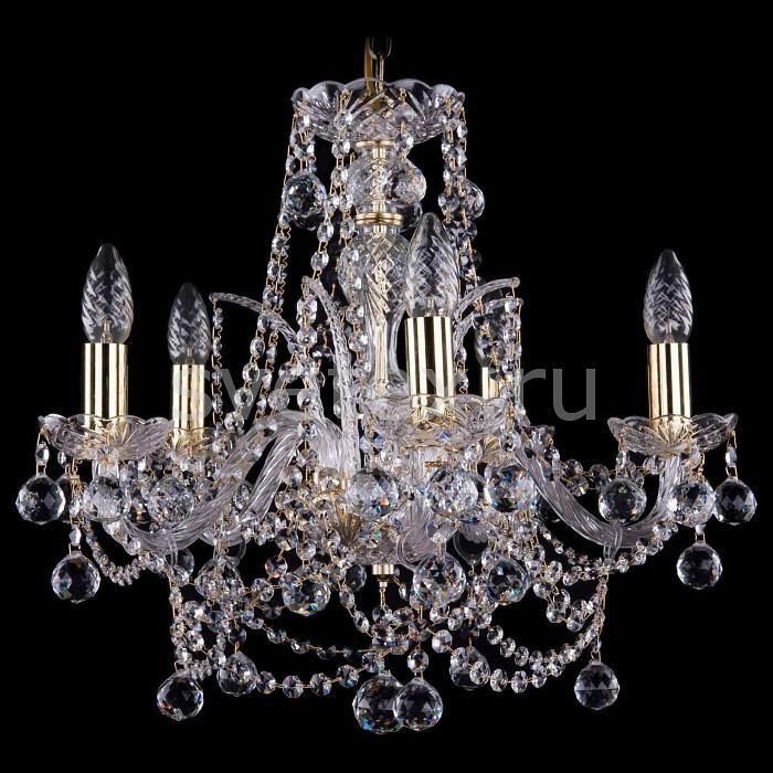 Подвесная люстра Bohemia Ivele Crystal5 или 6 ламп<br>Артикул - BI_1411_5_160_G_Balls,Бренд - Bohemia Ivele Crystal (Чехия),Коллекция - 1411,Гарантия, месяцы - 24,Высота, мм - 420,Диаметр, мм - 480,Размер упаковки, мм - 450x450x200,Тип лампы - компактная люминесцентная [КЛЛ] ИЛИнакаливания ИЛИсветодиодная [LED],Общее кол-во ламп - 5,Напряжение питания лампы, В - 220,Максимальная мощность лампы, Вт - 40,Лампы в комплекте - отсутствуют,Цвет плафонов и подвесок - неокрашенный,Тип поверхности плафонов - прозрачный,Материал плафонов и подвесок - хрусталь,Цвет арматуры - золото, неокрашенный,Тип поверхности арматуры - глянцевый, прозрачный,Материал арматуры - металл, стекло,Возможность подлючения диммера - можно, если установить лампу накаливания,Форма и тип колбы - свеча ИЛИ свеча на ветру,Тип цоколя лампы - E14,Класс электробезопасности - I,Общая мощность, Вт - 200,Степень пылевлагозащиты, IP - 20,Диапазон рабочих температур - комнатная температура,Дополнительные параметры - способ крепления светильника к потолку - на крюке, указана высота светильники без подвеса<br>