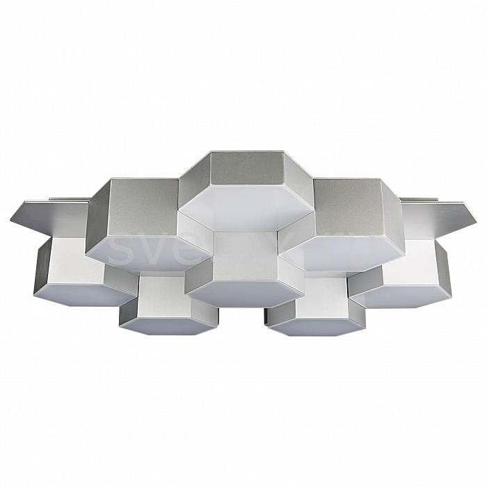 Потолочная люстра LightstarСветодиодные<br>Артикул - LS_750164,Бренд - Lightstar (Италия),Коллекция - Favo,Гарантия, месяцы - 24,Время изготовления, дней - 1,Длина, мм - 640,Ширина, мм - 590,Высота, мм - 120,Тип лампы - светодиодная [LED],Общее кол-во ламп - 8,Напряжение питания лампы, В - 220,Максимальная мощность лампы, Вт - 10,Лампы в комплекте - светодиодные [LED],Цвет плафонов и подвесок - белый,Тип поверхности плафонов - матовый,Материал плафонов и подвесок - стекло,Цвет арматуры - серебро,Тип поверхности арматуры - глянцевый,Материал арматуры - металл,Количество плафонов - 8,Возможность подлючения диммера - нельзя,Экономичнее лампы накаливания - в 15 раз,Класс электробезопасности - I,Общая мощность, Вт - 80,Степень пылевлагозащиты, IP - 20,Диапазон рабочих температур - комнатная температура<br>