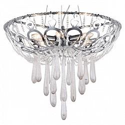 Подвесная люстра Crystal Lux5 или 6 ламп<br>Артикул - CU_1600_206,Бренд - Crystal Lux (Испания),Коллекция - Dorotea,Гарантия, месяцы - 24,Высота, мм - 410-1100,Диаметр, мм - 600,Тип лампы - компактная люминесцентная [КЛЛ] ИЛИнакаливания ИЛИсветодиодная [LED],Общее кол-во ламп - 6,Напряжение питания лампы, В - 220,Максимальная мощность лампы, Вт - 60,Лампы в комплекте - отсутствуют,Цвет плафонов и подвесок - неокрашенный,Тип поверхности плафонов - прозрачный,Материал плафонов и подвесок - хрусталь,Цвет арматуры - хром,Тип поверхности арматуры - глянцевый,Материал арматуры - металл,Возможность подлючения диммера - можно, если установить лампу накаливания,Тип цоколя лампы - E14,Класс электробезопасности - I,Общая мощность, Вт - 360,Степень пылевлагозащиты, IP - 20,Диапазон рабочих температур - комнатная температура,Дополнительные параметры - регулируется по высоте,  способ крепления светильника к потолку – на монтажной пластине<br>