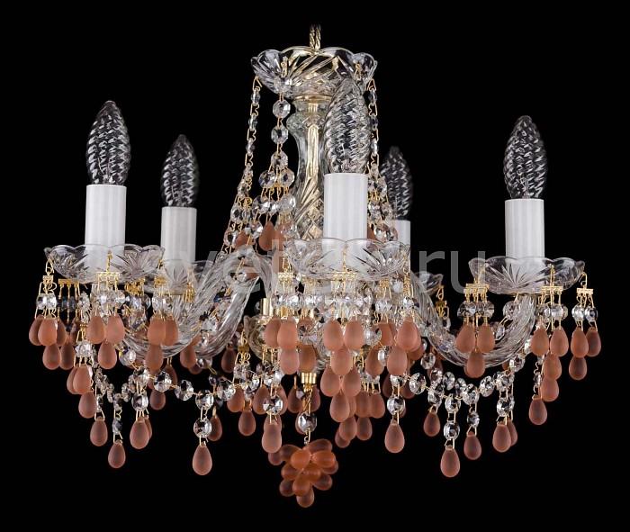 Фото Подвесная люстра Bohemia Ivele Crystal 1410 1410/5/141/G/7010
