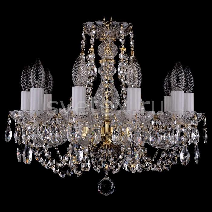 Фото Подвесная люстра Bohemia Ivele Crystal 1406 1406/10/141/G