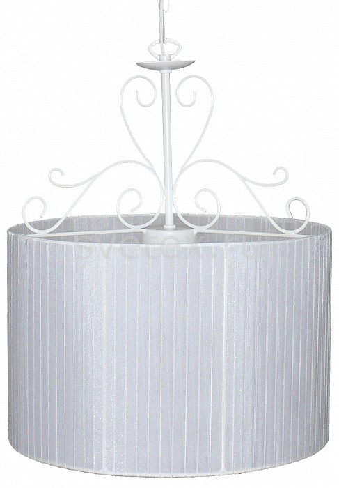 Подвесной светильник АврораСветодиодные<br>Артикул - AV_10025-3L,Бренд - Аврора (Россия),Коллекция - Ажур,Гарантия, месяцы - 24,Высота, мм - 480-1630,Диаметр, мм - 380,Тип лампы - компактная люминесцентная [КЛЛ] ИЛИнакаливания ИЛИсветодиодная  [LED],Общее кол-во ламп - 3,Напряжение питания лампы, В - 220,Максимальная мощность лампы, Вт - 60,Лампы в комплекте - отсутствуют,Цвет плафонов и подвесок - белый,Тип поверхности плафонов - матовый,Материал плафонов и подвесок - органза,Цвет арматуры - белый,Тип поверхности арматуры - матовый,Материал арматуры - металл,Количество плафонов - 1,Возможность подлючения диммера - можно, если установить лампу накаливания,Тип цоколя лампы - E14,Класс электробезопасности - I,Общая мощность, Вт - 180,Степень пылевлагозащиты, IP - 20,Диапазон рабочих температур - комнатная температура,Дополнительные параметры - способ крепления светильника к потолку - на крюке, регулируется по высоте<br>