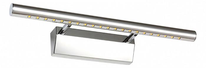 Подсветка для картин Kink LightСветодиодные<br>Артикул - KL_6430-2.02,Бренд - Kink Light (Китай),Коллекция - Проекция,Гарантия, месяцы - 24,Ширина, мм - 550,Высота, мм - 55,Размер упаковки, мм - 110x580x110,Тип лампы - светодиодная [LED],Общее кол-во ламп - 1,Напряжение питания лампы, В - 220,Максимальная мощность лампы, Вт - 7,Цвет лампы - белый,Лампы в комплекте - светодиодная [LED],Цвет плафонов и подвесок - хром,Тип поверхности плафонов - глянцевый,Материал плафонов и подвесок - металл,Цвет арматуры - хром,Тип поверхности арматуры - глянцевый,Материал арматуры - металл,Количество плафонов - 1,Наличие выключателя, диммера или пульта ДУ - выключатель,Цветовая температура, K - 4000 K,Световой поток, лм - 455,Экономичнее лампы накаливания - В 6, 6 раза,Светоотдача, лм/Вт - 65,Класс электробезопасности - I,Степень пылевлагозащиты, IP - 20,Диапазон рабочих температур - комнатная температура,Дополнительные параметры - способ крепления светильника к стене - на монтажной пластине, светильник предназначен для использования со скрытой проводкой<br>