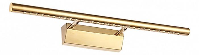 Подсветка для картин Kink LightСветодиодные<br>Артикул - KL_6430-2.33,Бренд - Kink Light (Китай),Коллекция - Проекция,Гарантия, месяцы - 24,Ширина, мм - 550,Высота, мм - 55,Размер упаковки, мм - 110x580x110,Тип лампы - светодиодная [LED],Общее кол-во ламп - 1,Напряжение питания лампы, В - 220,Максимальная мощность лампы, Вт - 7,Цвет лампы - белый,Лампы в комплекте - светодиодная [LED],Цвет плафонов и подвесок - золото,Тип поверхности плафонов - глянцевый,Материал плафонов и подвесок - металл,Цвет арматуры - золото,Тип поверхности арматуры - глянцевый,Материал арматуры - металл,Количество плафонов - 1,Наличие выключателя, диммера или пульта ДУ - выключатель,Цветовая температура, K - 4000 K,Световой поток, лм - 455,Экономичнее лампы накаливания - В 6, 6 раза,Светоотдача, лм/Вт - 65,Класс электробезопасности - I,Степень пылевлагозащиты, IP - 20,Диапазон рабочих температур - комнатная температура,Дополнительные параметры - способ крепления светильника к стене - на монтажной пластине, светильник предназначен для использования со скрытой проводкой<br>