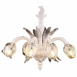 Подвесная люстра Arte LampБолее 6 ламп<br>Артикул - AR_A9130LM-8WH,Бренд - Arte Lamp (Италия),Коллекция - Prima,Высота, мм - 580-1200,Диаметр, мм - 820,Тип лампы - компактная люминесцентная [КЛЛ] ИЛИнакаливания ИЛИсветодиодная [LED],Общее кол-во ламп - 8,Напряжение питания лампы, В - 220,Максимальная мощность лампы, Вт - 40,Лампы в комплекте - отсутствуют,Цвет плафонов и подвесок - неокрашенный,Тип поверхности плафонов - прозрачный,Материал плафонов и подвесок - стекло,Цвет арматуры - белый, неокрашенный,Тип поверхности арматуры - глянцевый, прозрачный,Материал арматуры - металл, стекло,Возможность подлючения диммера - можно, если установить лампу накаливания,Тип цоколя лампы - E14,Класс электробезопасности - I,Общая мощность, Вт - 320,Степень пылевлагозащиты, IP - 20,Диапазон рабочих температур - комнатная температура,Дополнительные параметры - способ крепления светильника к потолку – на монтажной пластине или крюке<br>