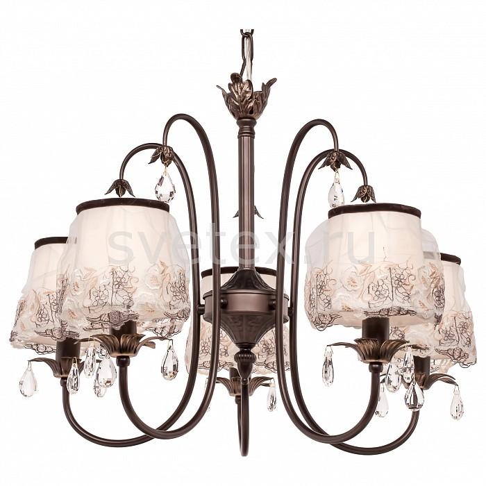 Подвесная люстра SilverLightСветильники<br>Артикул - SL_718.59.5,Бренд - SilverLight (Франция),Коллекция - Laura,Гарантия, месяцы - 24,Высота, мм - 500,Диаметр, мм - 600,Тип лампы - компактная люминесцентная [КЛЛ] ИЛИнакаливания ИЛИсветодиодная [LED],Общее кол-во ламп - 5,Напряжение питания лампы, В - 220,Максимальная мощность лампы, Вт - 60,Лампы в комплекте - отсутствуют,Цвет плафонов и подвесок - бежевый с рисунком, неокрашенный,Тип поверхности плафонов - матовый, прозрачный,Материал плафонов и подвесок - текстиль, хрусталь,Цвет арматуры - венге,Тип поверхности арматуры - матовый,Материал арматуры - металл,Количество плафонов - 5,Возможность подлючения диммера - можно, если установить лампу накаливания,Тип цоколя лампы - E14,Класс электробезопасности - I,Общая мощность, Вт - 300,Степень пылевлагозащиты, IP - 20,Диапазон рабочих температур - комнатная температура,Дополнительные параметры - способ крепления светильника на потолке - на крюке, регулируется по высоте<br>