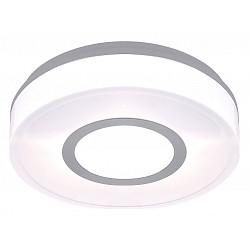 Накладной светильник GloboКруглые<br>Артикул - GB_32213,Бренд - Globo (Австрия),Коллекция - Lester,Гарантия, месяцы - 24,Время изготовления, дней - 1,Диаметр, мм - 280,Тип лампы - компактная люминесцентная [КЛЛ] ИЛИсветодиодная [LED],Общее кол-во ламп - 2,Напряжение питания лампы, В - 220,Максимальная мощность лампы, Вт - 11,Лампы в комплекте - отсутствуют,Цвет плафонов и подвесок - алюминий, белый,Тип поверхности плафонов - матовый,Материал плафонов и подвесок - полимер,Цвет арматуры - серый,Тип поверхности арматуры - матовый,Материал арматуры - нержавеющая сталь,Тип цоколя лампы - E27,Класс электробезопасности - I,Общая мощность, Вт - 22,Степень пылевлагозащиты, IP - 44,Диапазон рабочих температур - от -40^C до +40^C<br>