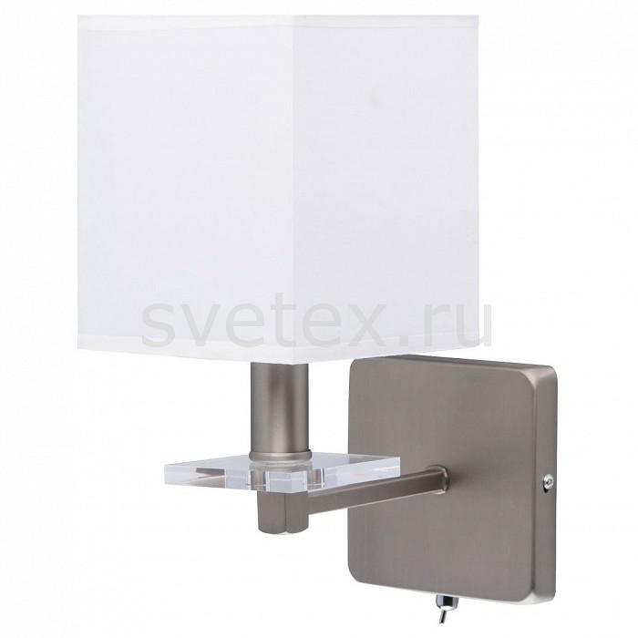Бра MW-LightСветодиодные<br>Артикул - MW_101021401,Бренд - MW-Light (Германия),Коллекция - Прато 4,Гарантия, месяцы - 24,Ширина, мм - 140,Высота, мм - 300,Выступ, мм - 220,Тип лампы - компактная люминесцентная [КЛЛ] ИЛИнакаливания ИЛИсветодиодная [LED],Общее кол-во ламп - 1,Напряжение питания лампы, В - 220,Максимальная мощность лампы, Вт - 40,Лампы в комплекте - отсутствуют,Цвет плафонов и подвесок - белый,Тип поверхности плафонов - матовый,Материал плафонов и подвесок - текстиль,Цвет арматуры - неокрашенный, никель,Тип поверхности арматуры - матовый, прозрачный,Материал арматуры - акрил, металл,Количество плафонов - 1,Наличие выключателя, диммера или пульта ДУ - выключатель,Возможность подлючения диммера - можно, если установить лампу накаливания,Тип цоколя лампы - E14,Класс электробезопасности - I,Степень пылевлагозащиты, IP - 20,Диапазон рабочих температур - комнатная температура,Дополнительные параметры - светильник предназначен для использования со скрытой проводкой<br>