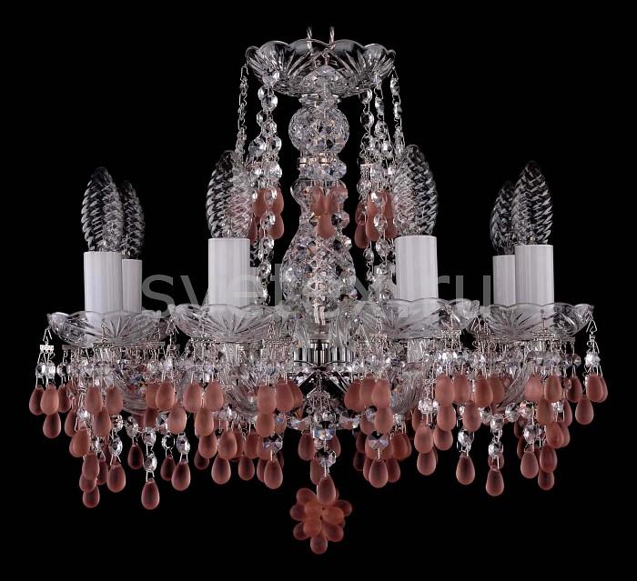 Фото Подвесная люстра Bohemia Ivele Crystal 1410 1410/8/141/Ni/7010