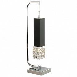 Настольная лампа Odeon LightНастольные лампы<br>Артикул - OD_2206_1T,Бренд - Odeon Light (Италия),Коллекция - Allen,Гарантия, месяцы - 24,Время изготовления, дней - 1,Высота, мм - 435,Тип лампы - галогеновая,Общее кол-во ламп - 1,Напряжение питания лампы, В - 220,Максимальная мощность лампы, Вт - 40,Лампы в комплекте - галогеновая G9,Цвет плафонов и подвесок - неокрашенный,Тип поверхности плафонов - прозрачный,Материал плафонов и подвесок - хрусталь,Цвет арматуры - венге, хром,Тип поверхности арматуры - матовый, глянцевый,Материал арматуры - металл,Форма и тип колбы - пальчиковая,Тип цоколя лампы - G9,Класс электробезопасности - II,Степень пылевлагозащиты, IP - 20,Диапазон рабочих температур - комнатная температура<br>