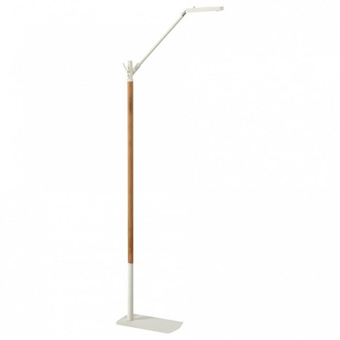Торшер MantraГибкие торшеры<br>Артикул - MN_4946,Бренд - Mantra (Испания),Коллекция - Phuket,Гарантия, месяцы - 24,Ширина, мм - 145,Высота, мм - 1300,Выступ, мм - 470,Тип лампы - светодиодная [LED],Общее кол-во ламп - 1,Максимальная мощность лампы, Вт - 7,Цвет лампы - белый теплый,Лампы в комплекте - светодиодная [LED],Цвет плафонов и подвесок - белый,Тип поверхности плафонов - матовый,Материал плафонов и подвесок - металл,Цвет арматуры - белый, коричневый,Тип поверхности арматуры - матовый,Материал арматуры - дерево, металл,Количество плафонов - 1,Наличие выключателя, диммера или пульта ДУ - выключатель,Компоненты, входящие в комплект - провод электропитания с вилкой без заземления,Цветовая температура, K - 3000 K,Световой поток, лм - 600,Экономичнее лампы накаливания - в 8.1 раза,Светоотдача, лм/Вт - 86,Класс электробезопасности - II,Напряжение питания, В - 220,Степень пылевлагозащиты, IP - 20,Диапазон рабочих температур - комнатная температура,Дополнительные параметры - поворотный светильник<br>