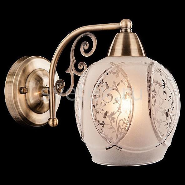 Бра EurosvetНастенные светильники<br>Артикул - EV_73985,Бренд - Eurosvet (Китай),Коллекция - 70026,Гарантия, месяцы - 24,Ширина, мм - 240,Высота, мм - 190,Выступ, мм - 150,Тип лампы - компактная люминесцентная [КЛЛ] ИЛИнакаливания ИЛИсветодиодная [LED],Общее кол-во ламп - 1,Напряжение питания лампы, В - 220,Максимальная мощность лампы, Вт - 60,Лампы в комплекте - отсутствуют,Цвет плафонов и подвесок - белый с рисунком,Тип поверхности плафонов - матовый,Материал плафонов и подвесок - стекло,Цвет арматуры - бронза античная,Тип поверхности арматуры - матовый, рельефный,Материал арматуры - металл,Количество плафонов - 1,Возможность подлючения диммера - можно, если установить лампу накаливания,Тип цоколя лампы - E27,Класс электробезопасности - I,Степень пылевлагозащиты, IP - 20,Диапазон рабочих температур - комнатная температура,Дополнительные параметры - способ крепления светильника на стене – на монтажной пластине, светильник предназначен для использования со скрытой проводкой<br>