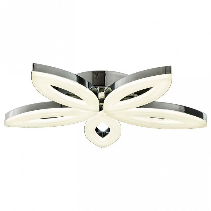 Потолочная люстра Kink LightПолимерные плафоны<br>Артикул - KL_08026,Бренд - Kink Light (Китай),Коллекция - Флора,Гарантия, месяцы - 24,Высота, мм - 80,Диаметр, мм - 520,Размер упаковки, мм - 120x590x590,Тип лампы - светодиодная [LED],Общее кол-во ламп - 5,Максимальная мощность лампы, Вт - 10,Цвет лампы - белый,Лампы в комплекте - светодиодные [LED],Цвет плафонов и подвесок - белый,Тип поверхности плафонов - матовый,Материал плафонов и подвесок - акрил,Цвет арматуры - хром,Тип поверхности арматуры - глянцевый,Материал арматуры - металл,Количество плафонов - 5,Возможность подлючения диммера - нельзя,Цветовая температура, K - 4000 K,Световой поток, лм - 7740,Экономичнее лампы накаливания - в 9.3 раза,Светоотдача, лм/Вт - 155,Класс электробезопасности - I,Напряжение питания, В - 220,Общая мощность, Вт - 50,Степень пылевлагозащиты, IP - 20,Диапазон рабочих температур - комнатная температура,Дополнительные параметры - способ крепления светильника к потолку - на монтажной пластине<br>