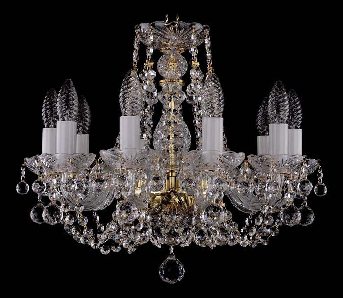 Фото Подвесная люстра Bohemia Ivele Crystal 1406 1406/10/141/G/Balls