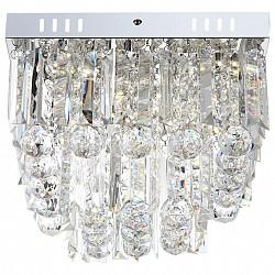 Потолочная люстра GloboПолимерные плафоны<br>Артикул - GB_68594-6A,Бренд - Globo (Австрия),Коллекция - Cleo,Гарантия, месяцы - 24,Высота, мм - 240,Размер упаковки, мм - 330х330х120,Тип лампы - светодиодная [LED],Общее кол-во ламп - 6,Напряжение питания лампы, В - 220,Максимальная мощность лампы, Вт - 3,Лампы в комплекте - светодиодные [LED],Цвет плафонов и подвесок - неокрашенный,Тип поверхности плафонов - прозрачный,Материал плафонов и подвесок - акрил,Цвет арматуры - хром,Тип поверхности арматуры - глянцевый, металлик,Материал арматуры - металл,Возможность подлючения диммера - нельзя,Класс электробезопасности - I,Общая мощность, Вт - 18,Степень пылевлагозащиты, IP - 20,Диапазон рабочих температур - комнатная температура,Дополнительные параметры - способ крепления светильника к потолку – на монтажной пластине<br>