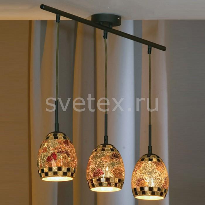 Подвесной светильник LussoleСветодиодные<br>Артикул - LSQ-6506-03,Бренд - Lussole (Италия),Коллекция - Ostuni,Гарантия, месяцы - 24,Время изготовления, дней - 1,Длина, мм - 800,Ширина, мм - 130,Высота, мм - 1500,Тип лампы - компактная люминесцентная [КЛЛ] ИЛИнакаливания ИЛИсветодиодная [LED],Общее кол-во ламп - 3,Напряжение питания лампы, В - 220,Максимальная мощность лампы, Вт - 40,Лампы в комплекте - отсутствуют,Цвет плафонов и подвесок - разноцветный,Тип поверхности плафонов - матовый,Материал плафонов и подвесок - стекло,Цвет арматуры - под ржавчину,Тип поверхности арматуры - матовый,Материал арматуры - сталь,Количество плафонов - 3,Возможность подлючения диммера - можно, если установить лампу накаливания,Тип цоколя лампы - E14,Класс электробезопасности - I,Общая мощность, Вт - 120,Степень пылевлагозащиты, IP - 20,Диапазон рабочих температур - комнатная температура,Дополнительные параметры - техника «мазайка»<br>