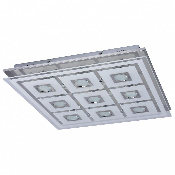 Накладной светильник MW-LightКвадратные<br>Артикул - MW_678011409,Бренд - MW-Light (Германия),Коллекция - Граффити 17,Гарантия, месяцы - 24,Длина, мм - 535,Ширина, мм - 535,Высота, мм - 75,Тип лампы - светодиодная [LED],Общее кол-во ламп - 9,Напряжение питания лампы, В - 220,Максимальная мощность лампы, Вт - 3,Цвет лампы - белый теплый,Лампы в комплекте - светодиодные [LED] GU10,Цвет плафонов и подвесок - белый, неокрашенный,Тип поверхности плафонов - матовый, прозрачный,Материал плафонов и подвесок - стекло,Цвет арматуры - хром,Тип поверхности арматуры - глянцевый,Материал арматуры - металл,Количество плафонов - 1,Возможность подлючения диммера - нельзя,Форма и тип колбы - полусферическая с рефлектором,Тип цоколя лампы - GU10,Цветовая температура, K - 3000 K,Световой поток, лм - 2160,Экономичнее лампы накаливания - в 5.7 раза,Светоотдача, лм/Вт - 80,Класс электробезопасности - I,Общая мощность, Вт - 27,Степень пылевлагозащиты, IP - 20,Диапазон рабочих температур - комнатная температура,Дополнительные параметры - способ крепления к потолку - на монтажной пластине<br>