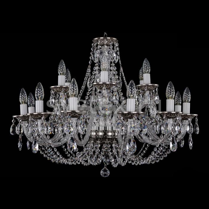 Фото Подвесная люстра Bohemia Ivele Crystal 1606 1606/12_6/300/NB