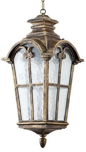 Подвесной светильник FeronСветильники<br>Артикул - FE_11531,Бренд - Feron (Китай),Коллекция - Замок,Гарантия, месяцы - 24,Длина, мм - 340,Ширина, мм - 230,Высота, мм - 500-1100,Тип лампы - компактная люминесцентная [КЛЛ] ИЛИнакаливания ИЛИсветодиодная [LED],Общее кол-во ламп - 1,Напряжение питания лампы, В - 220,Максимальная мощность лампы, Вт - 100,Лампы в комплекте - отсутствуют,Цвет плафонов и подвесок - неокрашенный,Тип поверхности плафонов - прозрачный,Материал плафонов и подвесок - стекло,Цвет арматуры - золото черненое,Тип поверхности арматуры - матовый,Материал арматуры - силумин,Количество плафонов - 1,Тип цоколя лампы - E27,Класс электробезопасности - I,Степень пылевлагозащиты, IP - 44,Диапазон рабочих температур - от -40^C до +40^C,Дополнительные параметры - способ крепления светильника к потолку - на крюке, регулируется по высоте<br>