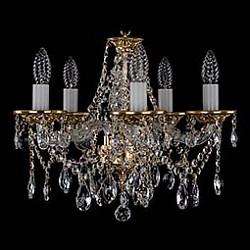 Подвесная люстра Bohemia Ivele Crystal5 или 6 ламп<br>Артикул - BI_1613_5_141_G,Бренд - Bohemia Ivele Crystal (Чехия),Коллекция - 1613,Гарантия, месяцы - 12,Высота, мм - 390,Диаметр, мм - 440,Размер упаковки, мм - 450x450x200,Тип лампы - компактная люминесцентная [КЛЛ] ИЛИнакаливания ИЛИсветодиодная [LED],Общее кол-во ламп - 5,Напряжение питания лампы, В - 220,Максимальная мощность лампы, Вт - 40,Лампы в комплекте - отсутствуют,Цвет плафонов и подвесок - неокрашенный,Тип поверхности плафонов - прозрачный,Материал плафонов и подвесок - хрусталь,Цвет арматуры - золото, неокрашенный,Тип поверхности арматуры - глянцевый, прозрачный,Материал арматуры - металл, стекло,Возможность подлючения диммера - можно, если установить лампу накаливания,Форма и тип колбы - свеча ИЛИ свеча на ветру,Тип цоколя лампы - E14,Класс электробезопасности - I,Общая мощность, Вт - 200,Степень пылевлагозащиты, IP - 20,Диапазон рабочих температур - комнатная температура,Дополнительные параметры - способ крепления светильника к потолку – на крюке<br>