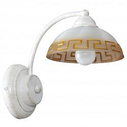 Бра АврораС 1 лампой<br>Артикул - AV_10053-1B,Бренд - Аврора (Россия),Коллекция - Афина,Гарантия, месяцы - 24,Высота, мм - 220,Тип лампы - компактная люминесцентная [КЛЛ] ИЛИнакаливания ИЛИсветодиодная [LED],Общее кол-во ламп - 1,Напряжение питания лампы, В - 220,Максимальная мощность лампы, Вт - 60,Лампы в комплекте - отсутствуют,Тип поверхности плафонов - матовый,Материал плафонов и подвесок - стекло,Цвет арматуры - белый с золотой патиной,Тип поверхности арматуры - матовый,Материал арматуры - металл,Возможность подлючения диммера - можно, если установить лампу накаливания,Тип цоколя лампы - E14,Класс электробезопасности - I,Степень пылевлагозащиты, IP - 20,Диапазон рабочих температур - комнатная температура,Дополнительные параметры - способ крепления светильника на стене – на монтажной пластине, светильник предназначен для использования со скрытой проводкой<br>