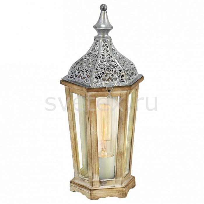 Фото Настольная лампа Eglo E27 220В 60Вт Kinghorn 49277