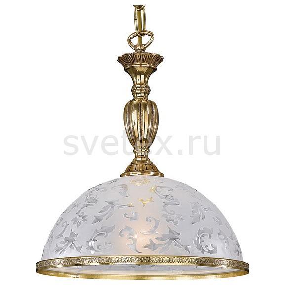 Подвесной светильник Reccagni AngeloБарные<br>Артикул - RA_L_6302_28,Бренд - Reccagni Angelo (Италия),Коллекция - 6302,Гарантия, месяцы - 24,Высота, мм - 360-1460,Диаметр, мм - 280,Тип лампы - компактная люминесцентная [КЛЛ] ИЛИнакаливания ИЛИсветодиодная [LED],Общее кол-во ламп - 1,Напряжение питания лампы, В - 220,Максимальная мощность лампы, Вт - 60,Лампы в комплекте - отсутствуют,Цвет плафонов и подвесок - неокрашенный с рисунком и каймой,Тип поверхности плафонов - матовый,Материал плафонов и подвесок - стекло,Цвет арматуры - золото французское,Тип поверхности арматуры - глянцевый, рельефный,Материал арматуры - латунь,Количество плафонов - 1,Возможность подлючения диммера - можно, если установить лампу накаливания,Тип цоколя лампы - E27,Класс электробезопасности - I,Степень пылевлагозащиты, IP - 20,Диапазон рабочих температур - комнатная температура,Дополнительные параметры - способ крепления светильника к потолку - на крюке, регулируется по высоте<br>