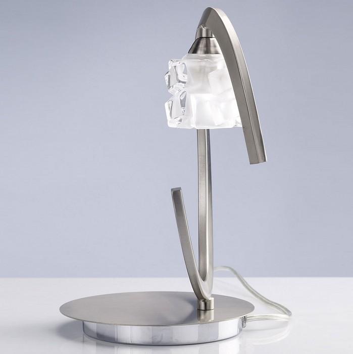 Фото Настольная лампа Mantra G9 220В 33Вт 2800-3200 K Ice 1856