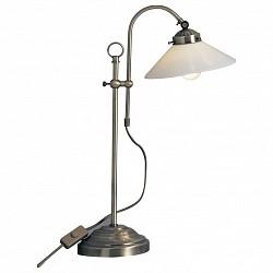 Настольная лампа GloboСтеклянный плафон<br>Артикул - GB_6871,Бренд - Globo (Австрия),Коллекция - Landlife,Гарантия, месяцы - 24,Высота, мм - 540,Диаметр, мм - 160,Размер упаковки, мм - 400x230x145,Тип лампы - компактная люминесцентная [КЛЛ] ИЛИнакаливания ИЛИсветодиодная [LED],Общее кол-во ламп - 1,Напряжение питания лампы, В - 220,Максимальная мощность лампы, Вт - 40,Лампы в комплекте - отсутствуют,Цвет плафонов и подвесок - белый,Тип поверхности плафонов - матовый,Материал плафонов и подвесок - стекло,Цвет арматуры - старая бронза,Тип поверхности арматуры - матовый,Материал арматуры - сталь,Тип цоколя лампы - E14,Класс электробезопасности - II,Степень пылевлагозащиты, IP - 20,Диапазон рабочих температур - комнатная температура<br>
