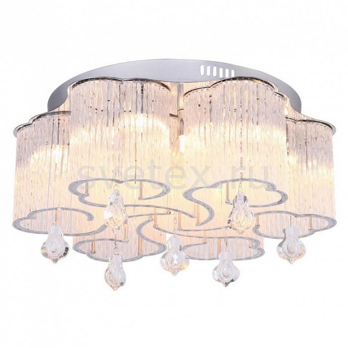 Накладной светильник Arte LampКруглые<br>Артикул - AR_A8561PL-15CL,Бренд - Arte Lamp (Италия),Коллекция - Ondata,Гарантия, месяцы - 24,Высота, мм - 180,Диаметр, мм - 500,Тип лампы - галогеновая,Общее кол-во ламп - 15,Напряжение питания лампы, В - 220,Максимальная мощность лампы, Вт - 33,Цвет лампы - белый теплый,Лампы в комплекте - галогеновые G9,Цвет плафонов и подвесок - неокрашенный,Тип поверхности плафонов - прозрачный,Материал плафонов и подвесок - стекло, хрусталь,Цвет арматуры - хром,Тип поверхности арматуры - глянцевый,Материал арматуры - металл,Количество плафонов - 1,Возможность подлючения диммера - можно,Форма и тип колбы - пальчиковая,Тип цоколя лампы - G9,Цветовая температура, K - 2800 - 3200 K,Экономичнее лампы накаливания - на 50%,Класс электробезопасности - I,Общая мощность, Вт - 495,Степень пылевлагозащиты, IP - 20,Диапазон рабочих температур - комнатная температура,Дополнительные параметры - способ крепления светильника к потолку - на монтажной пластине<br>