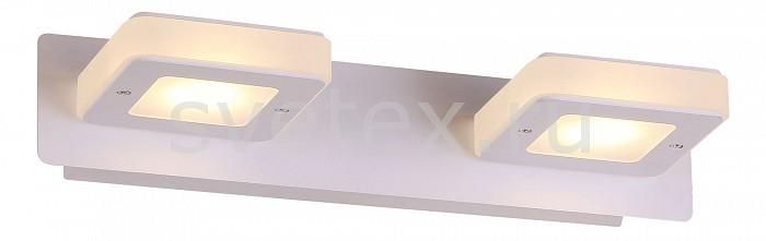 Накладной светильник ST-LuceСветодиодные<br>Артикул - SL583.101.02,Бренд - ST-Luce (Италия),Коллекция - Scaf,Гарантия, месяцы - 24,Ширина, мм - 300,Высота, мм - 60,Выступ, мм - 130,Размер упаковки, мм - 550x350x335,Тип лампы - светодиодная [LED],Общее кол-во ламп - 2,Максимальная мощность лампы, Вт - 3,Цвет лампы - белый,Лампы в комплекте - светодиодные [LED],Цвет плафонов и подвесок - белый,Тип поверхности плафонов - матовый,Материал плафонов и подвесок - акрил,Цвет арматуры - белый,Тип поверхности арматуры - матовый,Материал арматуры - металл,Количество плафонов - 1,Возможность подлючения диммера - нельзя,Цветовая температура, K - 4000 K,Экономичнее лампы накаливания - в 10 раз,Класс электробезопасности - I,Напряжение питания, В - 220,Общая мощность, Вт - 6,Степень пылевлагозащиты, IP - 20,Диапазон рабочих температур - комнатная температура,Дополнительные параметры - способ крепления светильника на стене – на монтажной пластине, светильник предназначен для использования со скрытой проводкой<br>