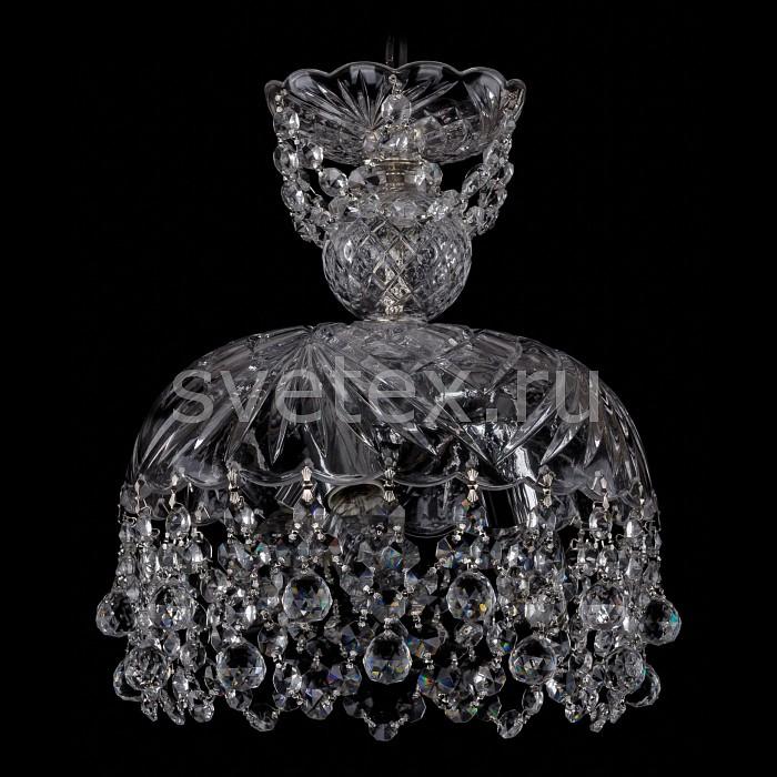 Фото Подвесной светильник Bohemia Ivele Crystal 7711 7711/25/Ni/Balls