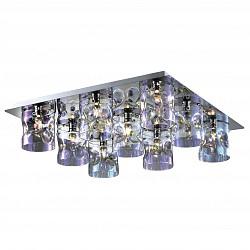 Потолочная люстра Odeon LightБолее 6 ламп<br>Артикул - OD_2730_9C,Бренд - Odeon Light (Италия),Коллекция - Orisa,Гарантия, месяцы - 24,Время изготовления, дней - 1,Высота, мм - 160,Тип лампы - галогеновая,Общее кол-во ламп - 9,Напряжение питания лампы, В - 220,Максимальная мощность лампы, Вт - 40,Лампы в комплекте - галогеновые G9,Цвет плафонов и подвесок - неокрашенный,Тип поверхности плафонов - прозрачный,Материал плафонов и подвесок - стекло, хрусталь,Цвет арматуры - хром,Тип поверхности арматуры - глянцевый,Материал арматуры - металл,Возможность подлючения диммера - можно,Форма и тип колбы - пальчиковая,Тип цоколя лампы - G9,Класс электробезопасности - I,Общая мощность, Вт - 360,Степень пылевлагозащиты, IP - 20,Диапазон рабочих температур - комнатная температура<br>