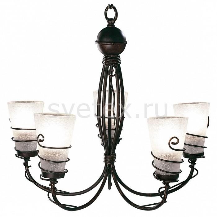 Фото Подвесной светильник Arte Lamp Spiral A9051LM-5BR