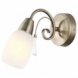 Бра GloboС 1 лампой<br>Артикул - GB_54645-1W,Бренд - Globo (Австрия),Коллекция - Forrest,Гарантия, месяцы - 24,Высота, мм - 180,Размер упаковки, мм - 185x125x160,Тип лампы - компактная люминесцентная [КЛЛ] ИЛИнакаливания ИЛИсветодиодная [LED],Общее кол-во ламп - 1,Напряжение питания лампы, В - 220,Максимальная мощность лампы, Вт - 40,Лампы в комплекте - отсутствуют,Цвет плафонов и подвесок - белый алебастр,Тип поверхности плафонов - матовый,Материал плафонов и подвесок - акрил, стекло,Цвет арматуры - бронза античная,Тип поверхности арматуры - матовый,Материал арматуры - металл,Возможность подлючения диммера - можно, если установить лампу накаливания,Тип цоколя лампы - E14,Класс электробезопасности - I,Степень пылевлагозащиты, IP - 20,Диапазон рабочих температур - комнатная температура,Дополнительные параметры - способ крепления светильника к стене – на монтажной пластине, светильник предназначен для использования со скрытой проводкой<br>