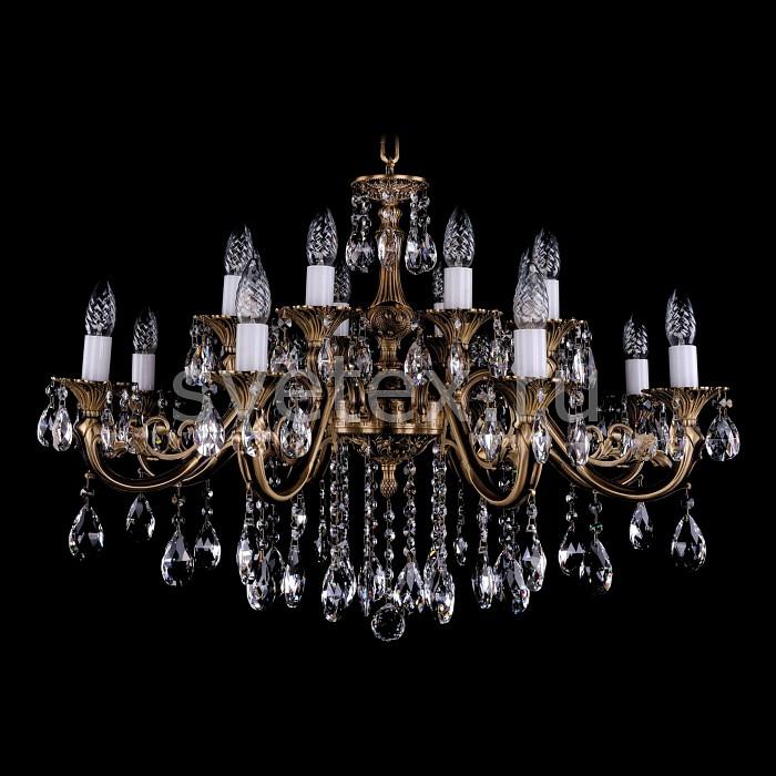 Фото Подвесная люстра Bohemia Ivele Crystal 1703 1703/16/B/FP