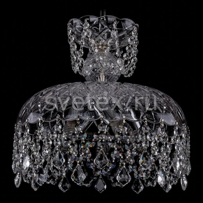 Фото Подвесной светильник Bohemia Ivele Crystal 7711 7711/35/Ni/Leafs