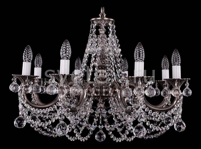 Фото Подвесная люстра Bohemia Ivele Crystal 1702 1702/8/C/NB/Balls