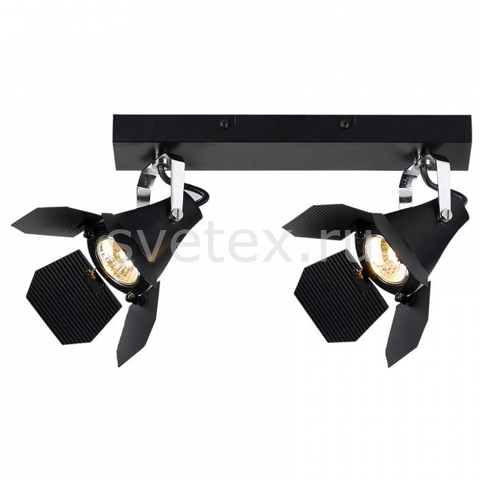 Спот Arte LampСпоты<br>Артикул - AR_A3092AP-2BK,Бренд - Arte Lamp (Италия),Коллекция - Cinema,Гарантия, месяцы - 24,Длина, мм - 390,Ширина, мм - 90,Выступ, мм - 130,Размер упаковки, мм - 100x400x140,Тип лампы - галогеновая ИЛИсветодиодная [LED],Общее кол-во ламп - 2,Напряжение питания лампы, В - 220,Максимальная мощность лампы, Вт - 50,Лампы в комплекте - отсутствуют,Цвет плафонов и подвесок - черный,Тип поверхности плафонов - матовый,Материал плафонов и подвесок - металл,Цвет арматуры - черный, хром,Тип поверхности арматуры - матовый,Материал арматуры - металл,Количество плафонов - 2,Возможность подлючения диммера - можно, если установить галогеновую лампу,Форма и тип колбы - полусферическая с рефлектором,Тип цоколя лампы - GU10,Класс электробезопасности - I,Общая мощность, Вт - 100,Степень пылевлагозащиты, IP - 20,Диапазон рабочих температур - комнатная температура,Дополнительные параметры - способ крепления светильника к потолку и стене – на монтажной пластине, поворотный светильник<br>