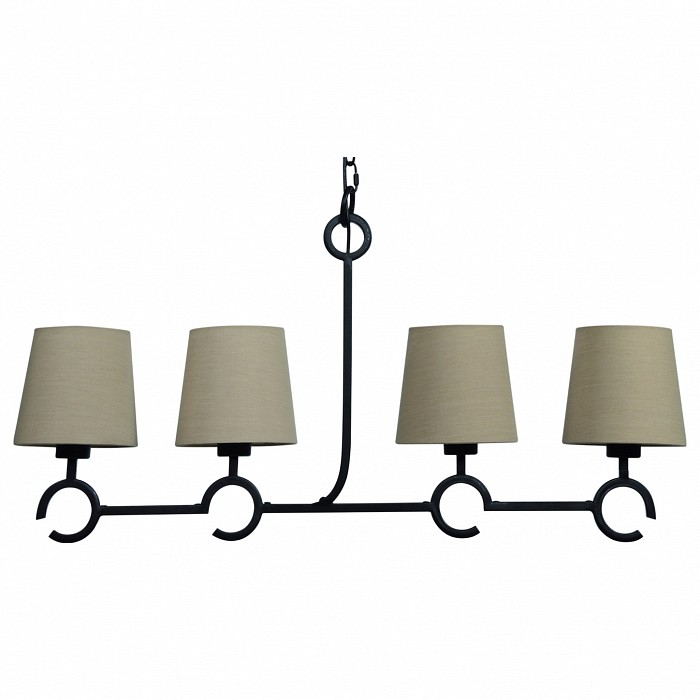 Подвесная люстра MantraТекстильные плафоны<br>Артикул - MN_5212,Бренд - Mantra (Испания),Коллекция - Argi,Гарантия, месяцы - 24,Длина, мм - 880,Ширина, мм - 160,Высота, мм - 1500,Тип лампы - компактная люминесцентная [КЛЛ] ИЛИсветодиодная [LED],Общее кол-во ламп - 4,Напряжение питания лампы, В - 220,Максимальная мощность лампы, Вт - 13,Лампы в комплекте - отсутствуют,Цвет плафонов и подвесок - песочный,Тип поверхности плафонов - матовый,Материал плафонов и подвесок - текстиль,Цвет арматуры - черный,Тип поверхности арматуры - матовый,Материал арматуры - металл,Количество плафонов - 4,Возможность подлючения диммера - нельзя,Тип цоколя лампы - E27,Класс электробезопасности - I,Общая мощность, Вт - 52,Степень пылевлагозащиты, IP - 20,Диапазон рабочих температур - комнатная температура,Дополнительные параметры - способ крепления светильника к потолку - на монтажной пластине, регулируется по высоте<br>