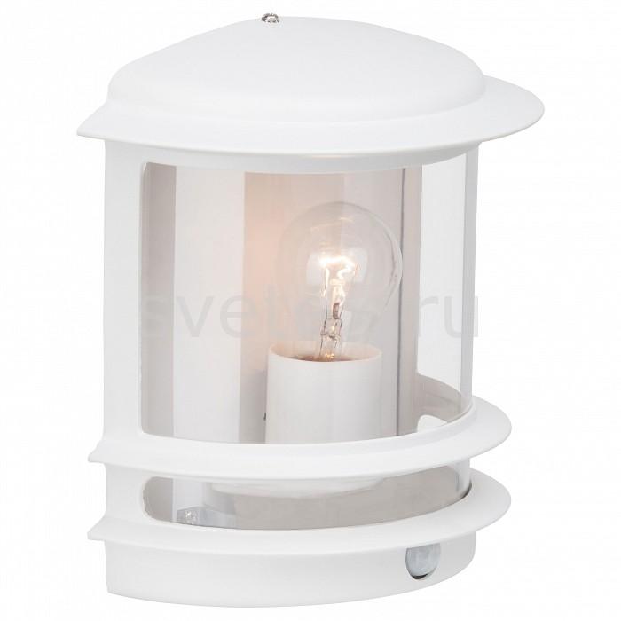 Накладной светильник BrilliantУЛИЧНЫЕ светильники<br>Артикул - BT_47897_05,Бренд - Brilliant (Германия),Коллекция - Hollywood,Гарантия, месяцы - 24,Ширина, мм - 130,Высота, мм - 240,Выступ, мм - 235,Тип лампы - компактная люминесцентная [КЛЛ] ИЛИнакаливания ИЛИсветодиодная [LED],Общее кол-во ламп - 1,Напряжение питания лампы, В - 220,Максимальная мощность лампы, Вт - 60,Лампы в комплекте - отсутствуют,Цвет плафонов и подвесок - неокрашенный,Тип поверхности плафонов - прозрачный,Материал плафонов и подвесок - полимер,Цвет арматуры - белый,Тип поверхности арматуры - матовый,Материал арматуры - металл,Количество плафонов - 1,Наличие выключателя, диммера или пульта ДУ - датчик движения,Тип цоколя лампы - E27,Класс электробезопасности - II,Степень пылевлагозащиты, IP - 44,Диапазон рабочих температур - от -40^C до +40^C,Дополнительные параметры - способ крепления светильника к стене  – на монтажной пластине, светильник предназначен для использования со скрытой проводкой<br>