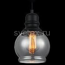 Подвесной светильник EurosvetДля кухни<br>Артикул - EV_77106,Бренд - Eurosvet (Китай),Коллекция - Индиго,Гарантия, месяцы - 24,Высота, мм - 960,Диаметр, мм - 160,Тип лампы - компактная люминесцентная [КЛЛ] ИЛИнакаливания ИЛИсветодиодная [LED],Общее кол-во ламп - 1,Напряжение питания лампы, В - 220,Максимальная мощность лампы, Вт - 60,Лампы в комплекте - отсутствуют,Цвет плафонов и подвесок - дымчатый,Тип поверхности плафонов - прозрачный,Материал плафонов и подвесок - стекло,Цвет арматуры - черный,Тип поверхности арматуры - матовый,Материал арматуры - металл,Количество плафонов - 1,Возможность подлючения диммера - можно, если установить лампу накаливания,Тип цоколя лампы - E27,Класс электробезопасности - I,Степень пылевлагозащиты, IP - 20,Диапазон рабочих температур - комнатная температура,Дополнительные параметры - способ крепления светильника к потолку - на монтажной пластине, светильник регулируется по высоте<br>
