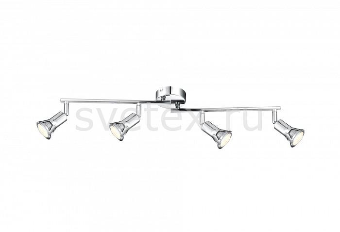 Спот GloboС 4 лампами<br>Артикул - GB_57994-4,Бренд - Globo (Австрия),Коллекция - Dante,Гарантия, месяцы - 24,Время изготовления, дней - 1,Длина, мм - 600,Выступ, мм - 160,Тип лампы - светодиодная [LED],Общее кол-во ламп - 4,Напряжение питания лампы, В - 230,Максимальная мощность лампы, Вт - 3,Цвет лампы - белый теплый,Лампы в комплекте - светодиодные [LED] GU10,Цвет арматуры - хром,Тип поверхности арматуры - глянцевый,Материал арматуры - металл,Возможность подлючения диммера - нельзя,Форма и тип колбы - полусферическая с рефлектором,Тип цоколя лампы - GU10,Цветовая температура, K - 3000 K,Световой поток, лм - 880,Экономичнее лампы накаливания - в 6 раз,Светоотдача, лм/Вт - 73,Ресурс лампы - 10 тыс. часов,Класс электробезопасности - I,Общая мощность, Вт - 12,Степень пылевлагозащиты, IP - 20,Диапазон рабочих температур - комнатная температура,Дополнительные параметры - поворотный светильник<br>