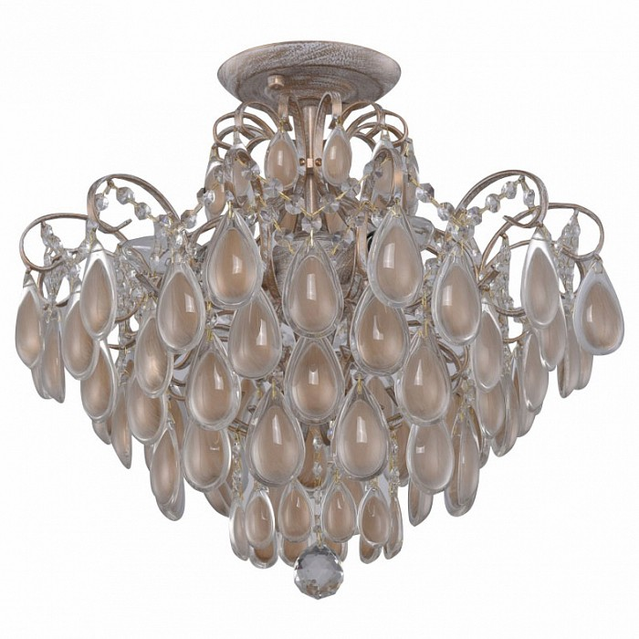 Люстра на штанге Crystal LuxНе более 4 ламп<br>Артикул - CU_2940_104,Бренд - Crystal Lux (Испания),Коллекция - Sevilia,Гарантия, месяцы - 24,Высота, мм - 423,Диаметр, мм - 474,Тип лампы - компактная люминесцентная [КЛЛ] ИЛИнакаливания ИЛИсветодиодная [LED],Общее кол-во ламп - 4,Напряжение питания лампы, В - 220,Максимальная мощность лампы, Вт - 60,Лампы в комплекте - отсутствуют,Цвет плафонов и подвесок - кремовый, неокрашенный,Тип поверхности плафонов - глянцевый, прозрачный,Материал плафонов и подвесок - стекло,Цвет арматуры - белый с золотой патиной,Тип поверхности арматуры - матовый,Материал арматуры - металл,Возможность подлючения диммера - можно, если установить лампу накаливания,Форма и тип колбы - свеча ИЛИ свеча на ветру,Тип цоколя лампы - E14,Класс электробезопасности - I,Общая мощность, Вт - 240,Степень пылевлагозащиты, IP - 20,Диапазон рабочих температур - комнатная температура,Дополнительные параметры - способ крепления светильника к потолку – на монтажной пластине<br>
