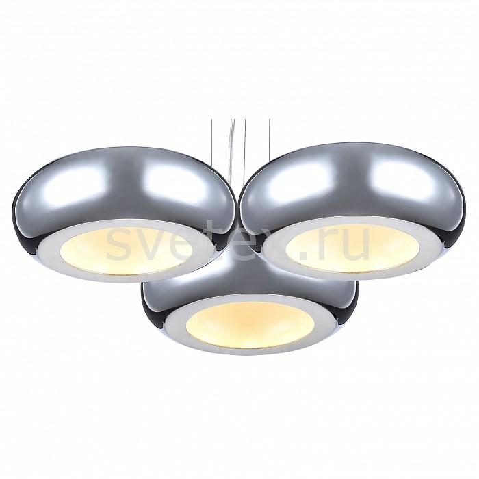 Подвесной светильник MaytoniСветодиодные<br>Артикул - MY_MOD780-03-N,Бренд - Maytoni (Германия),Коллекция - Pulsar,Гарантия, месяцы - 24,Высота, мм - 1200,Диаметр, мм - 475,Тип лампы - светодиодная [LED],Общее кол-во ламп - 3,Напряжение питания лампы, В - 220,Максимальная мощность лампы, Вт - 12,Цвет лампы - белый,Лампы в комплекте - светодиодные [LED],Цвет плафонов и подвесок - белый, хром,Тип поверхности плафонов - глянцевый,Материал плафонов и подвесок - акрил, металл,Цвет арматуры - хром,Тип поверхности арматуры - глянцевый,Материал арматуры - металл,Количество плафонов - 3,Возможность подлючения диммера - нельзя,Цветовая температура, K - 4000 K,Световой поток, лм - 6930,Экономичнее лампы накаливания - в 1.4 раза,Светоотдача, лм/Вт - 578,Класс электробезопасности - I,Общая мощность, Вт - 36,Степень пылевлагозащиты, IP - 20,Диапазон рабочих температур - комнатная температура,Дополнительные параметры - способ крепления светильника к потолку – на монтажной пластине, регулируется по высоте<br>
