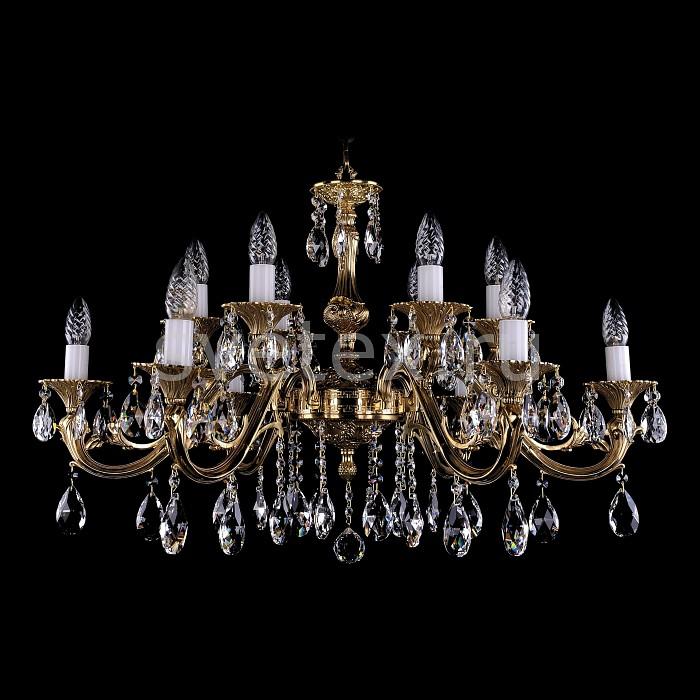 Фото Подвесная люстра Bohemia Ivele Crystal 1703 1703/12/A/G