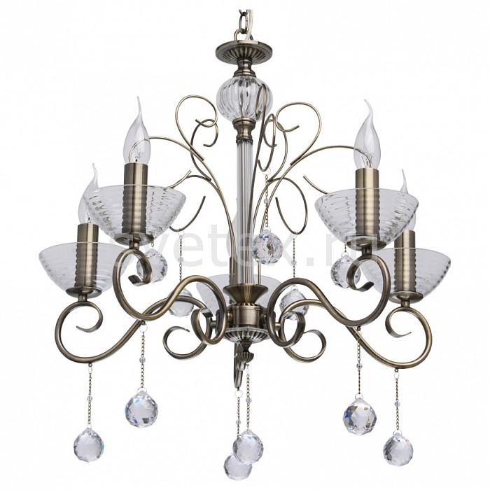Подвесная люстра MW-Light5 или 6 ламп<br>Артикул - MW_683010405,Бренд - MW-Light (Германия),Коллекция - Свеча 31,Гарантия, месяцы - 24,Высота, мм - 230-1000,Диаметр, мм - 600,Тип лампы - компактная люминесцентная [КЛЛ] ИЛИнакаливания ИЛИсветодиодная [LED],Общее кол-во ламп - 5,Напряжение питания лампы, В - 220,Максимальная мощность лампы, Вт - 40,Лампы в комплекте - отсутствуют,Цвет плафонов и подвесок - неокрашенный,Тип поверхности плафонов - прозрачный,Материал плафонов и подвесок - хрусталь,Цвет арматуры - бронза античная, неокрашенный,Тип поверхности арматуры - матовый, прозрачный, рельефный,Материал арматуры - металл, стекло,Возможность подлючения диммера - можно, если установить лампу накаливания,Форма и тип колбы - свеча ИЛИ свеча на ветру,Тип цоколя лампы - E14,Класс электробезопасности - I,Общая мощность, Вт - 200,Степень пылевлагозащиты, IP - 20,Диапазон рабочих температур - комнатная температура,Дополнительные параметры - регулируется по высоте,  способ крепления светильника к потолку – на крюке<br>